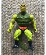 Whiplash - 1983 Mattel He-Man MOTU Masters of the Universe Action Figure... - $18.62