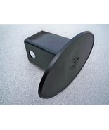 """2"""" Receiver Customizable Empty Blank Oval Hitch Cover Plug Car Trailer T... - $11.99"""