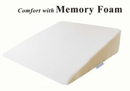 """Foam Wedge Bed Pillow 26"""" x 25"""" 7.5"""" with High ... - $48.26"""