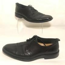 Cole Haan Split Toe Dress Lace Up C06399 Oxfords Black Leather Mens Size... - $34.99