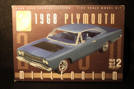 AMT 1968 Plymouth 1/25 Scale Model Kit Millennium Year 2000 Special Edit... - $22.95