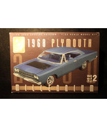 AMT 1968 Plymouth 1/25 Scale Model Kit Millennium Year 2000 Special Edition gift - $22.95