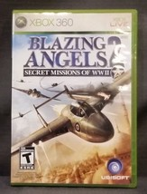 Blazing Angels 2: Secret Missions of WWII (Microsoft Xbox 360, 2007) Vid... - $7.92