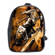 Backpack School Bag The Legend Of Zelda Paint Japan Fantasy Action Adventure Vid - $33.00