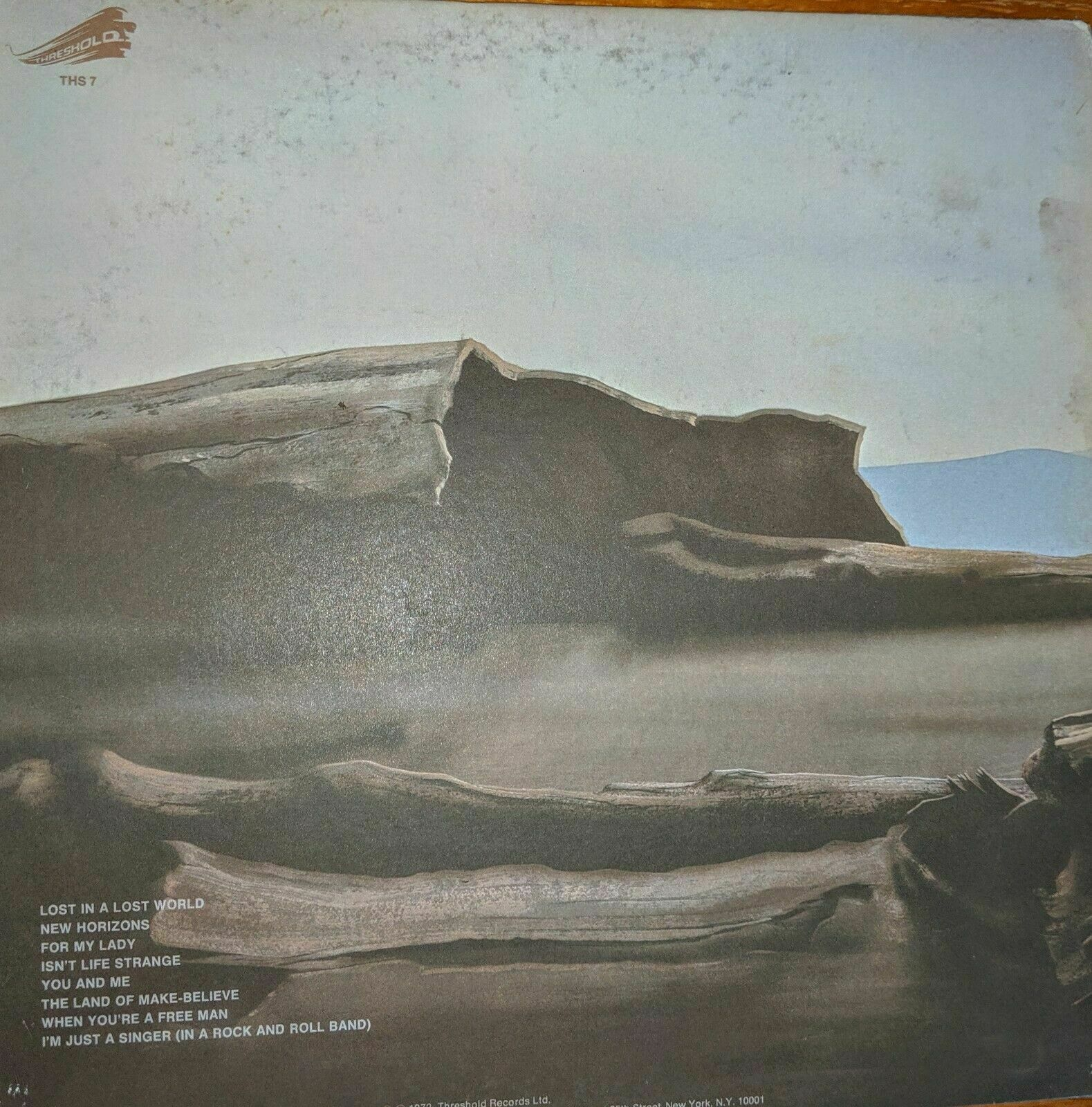Moody Blues, Seventh Sojourn Vinyl LP, released 1972, London Records image 2