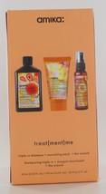 Amika Treat(ment)me Triple Rx Shampoo+Nourishing+ Mask+ The Wizard - $32.15