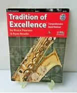 KJOS W61XE Tradition of Excellence - Book 1 - Alto Saxophone - audio vid... - $10.00