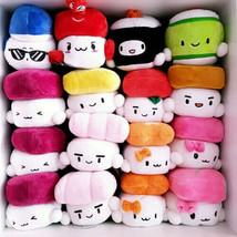 """Sushi Plush Pillow 6"""" Cushion Doll Toy Japanese Food Gift Bedding Cute D... - $11.99"""
