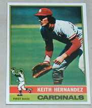 1976 Topps #542 Keith Hernandez St Louis Cardinals MLB Baseball Card VG-EX - $9.88