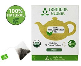 Darjeeling Organic Green Tea, 10 Teabags | Helps to Detox | 100% Natural... - $13.90
