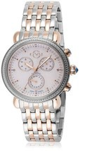 GV2 Gevril Marsala 9807 ROSE GOLD & SILVER Chronograph Diamond WATCH Swi... - $479.76 CAD
