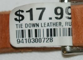 Unbranded Leather Tie Down Russett Oil Finish Color Four Feet Long image 4