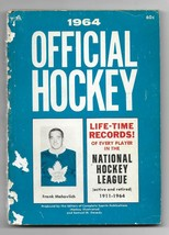 1964 Official Hockey Life Time Records of Every Player in the NHL Paperb... - $3.96