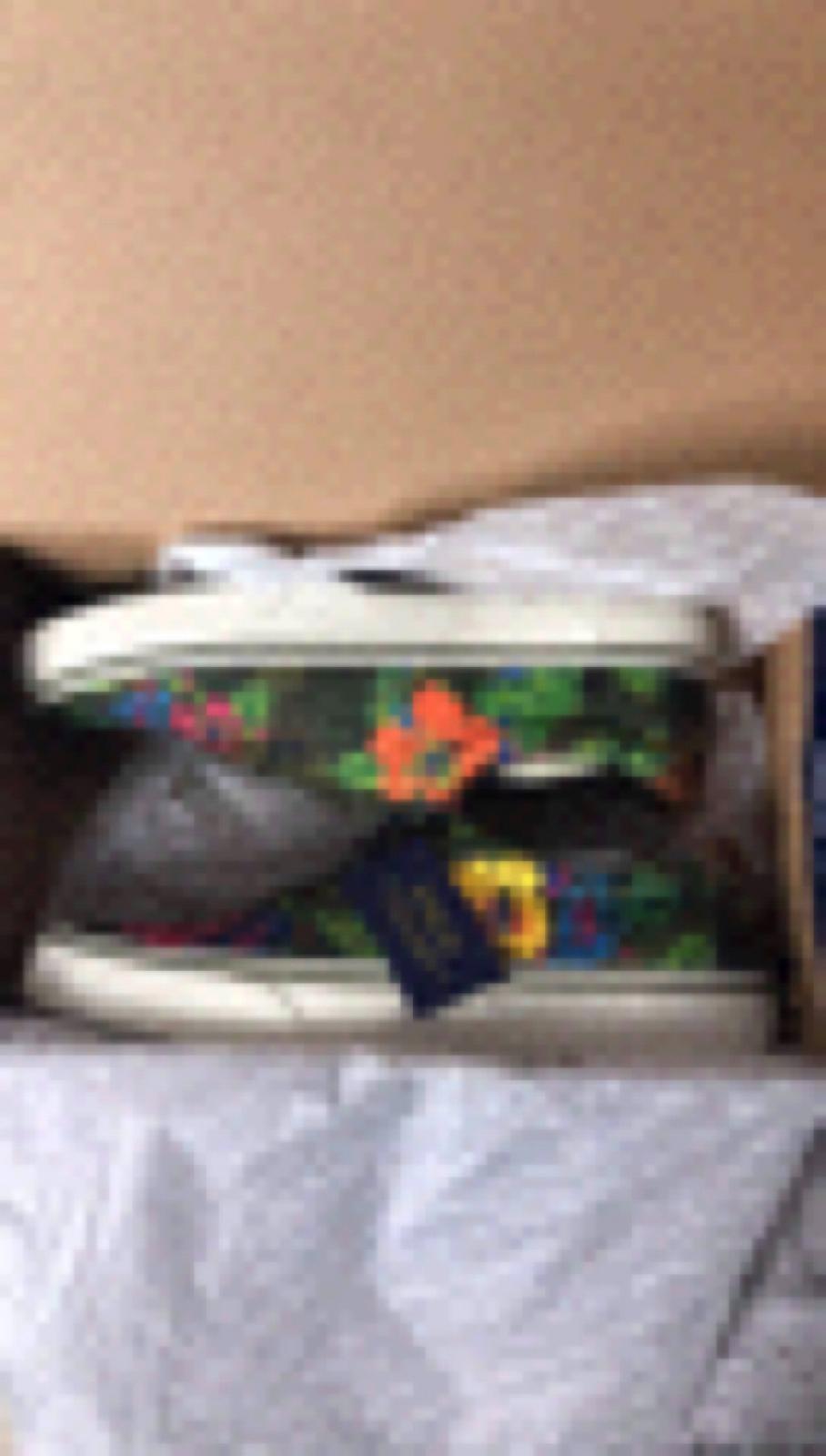 Polo Ralph Lauren Thorton111 Sneaker Shoes Sz 10 D Men's NWB