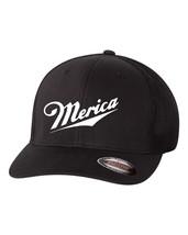 MERICA FUNNY AMERICAN 'MERICA PATRIOT TRUMP Trucker Cap FLEXFIT HAT - $19.99