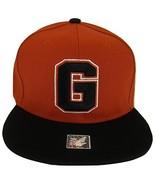 Georgia G Adjustable Snapback Baseball Cap (Red/Black) - $13.49