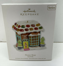 Hallmark Keepsake Ornament Flower Shop Noelville #6 In Series 2011 - $12.82