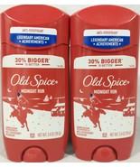 2 Pack Old Spice American Achievements Midnight Run Deodorant 3.4 Oz. Ea... - $19.75