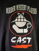 Murder Mystery Players Cast T-Shirt Size Xl - $8.90
