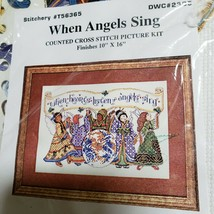 """Design Works When Angels Sing Counted Cross Kit 10"""" x 16"""" NEW - $17.74"""