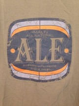 Gap Graphic T-Shirt Beer XL Men's Malt Ale Brew With Pride Tan 100% Cotton - $11.83