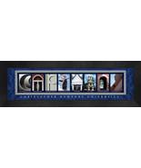 "Christopher Newport University ""Captains"" Framed Campus Letter Art Print  - $39.95"