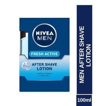 Nivea Men Fresh Active After Shave Lotion - 100 ml Free Shipping - $10.15