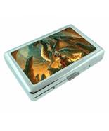 Amazon Warrior Princess D16 Silver Metal Cigarette Case RFID Protection ... - $10.84