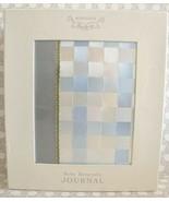 New Nordstrom Baby Keepsake Journal Boy Blue Photo Album Book Satin Ribb... - $54.45