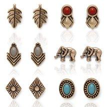 Boho Babe Stud Earrings Set - $14.99