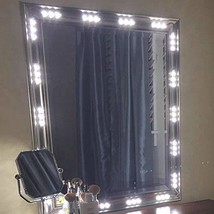BEST LED LIGHTS FOR MAKE-UP VANITY MIRROR-60 LEDS 9FT DIY LIGHT KITS WIT... - $34.99