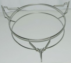 Unbranded Circular Metal Grill Cooking Rack Color Silver image 1
