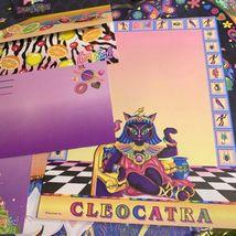 Lisa Frank Vintage Rare Stationery Lot Ice Cream Cleocatra Fruit Elephant Dream image 7