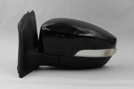 15 16 17 18 FORD FOCUS LEFT DRIVER SIDE BLACK POWER DOOR MIRROR W/ SIGNA... - $123.74
