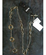 Michael Kors Damen Neu 2 Ton Gürtel Größe: S/M Länge: 39 1.3cm - $47.84
