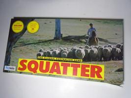 SQUATTER Family BOARD GAME AUSTRALIAN FARMING 1961 Copyright Playworks C... - $45.05