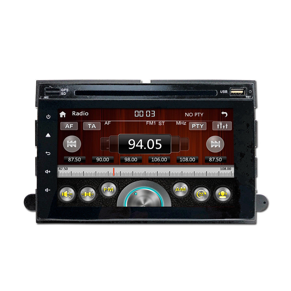Touchscreen Bluetooth DVD CD Player GPS Navigation Radio for 06-10 Ford Explorer