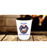 Space Force 2020 Mars And Beyond Collectors Man Cave Shot Glass Gift - $11.99
