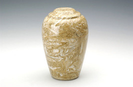 Grecian Marble Neptune Adult Funeral Cremation Urn 190 Cubic Inches TSA ... - $194.99