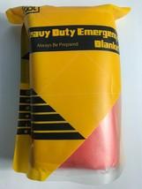 Safety Auto Talus Hr-Em-101 84 X 56-Inch Aluminum Car Emergency Blanket Flares
