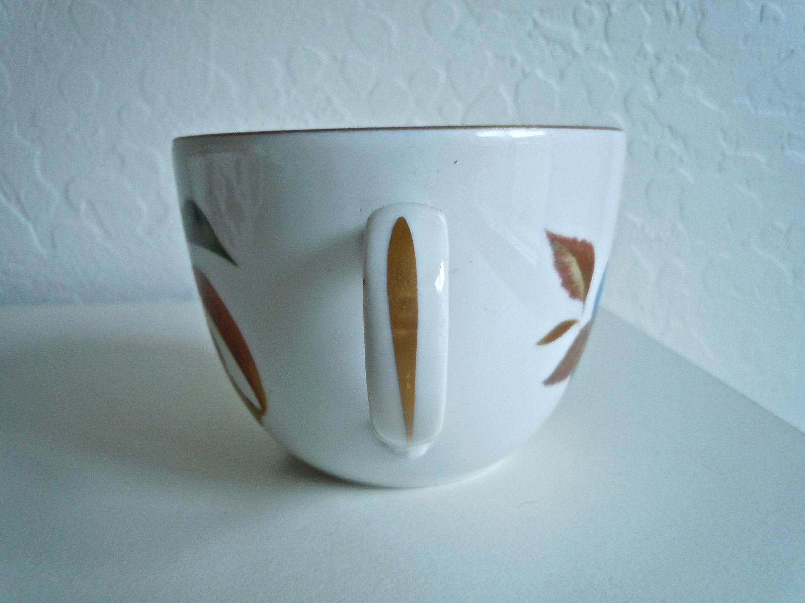 Royal Worcester Evesham Gold Cup and Saucer Set