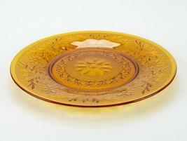 "Anchor Hocking Sandwich Desert Gold Sandwich Plate, Vintage Amber Tray 12"" - $19.60"
