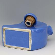 Vintage Cambridge Pottery Blue Refridgerator Water Bottle Jug with Stopper image 3