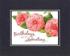 Birthdays are for Celebrating. 8 x 10 Inches Biblical/Religious Verses s... - $11.14