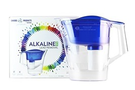 Wave Enviro Alkaline Pitcher with Lead Removal 12 Cup, Blue - $70.00