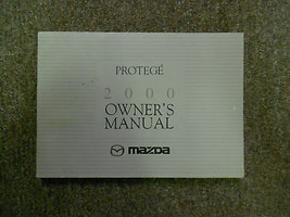 2000 Mazda Protege Owners Manual FACTORY OEM BOOK 00 DEALERSHIP MAZDA x - $43.99