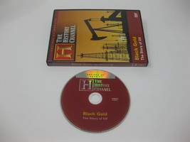 BLACK GOLD OIL Fuel Wars Petroleum OPEC Texas Oils Gas History Channel D... - $19.99