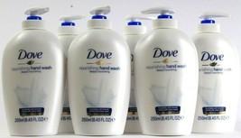 6 Bottles Dove 8.45 Oz Deeply Nourishing 1/4 Moisturizing Cream Hand Wash - $37.99