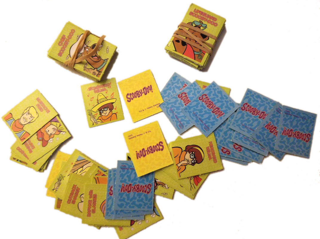 Scooby-Doo Who Are You Board Game Replacement Pieces - (90) Cards