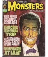 Warren Famous Monsters Of Filmland #126 King Kong Lugosi Mr Sardonicus H... - $12.95